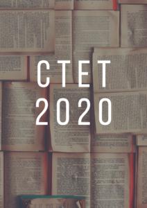 CTET 2B2020